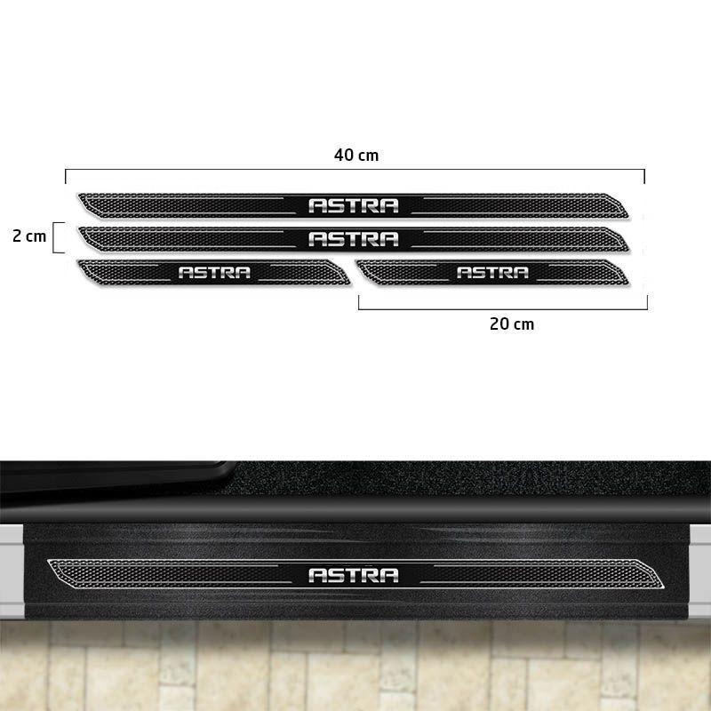 Friso Porta-Malas Astra Hatch Sedan + Kit Soleira Protetora