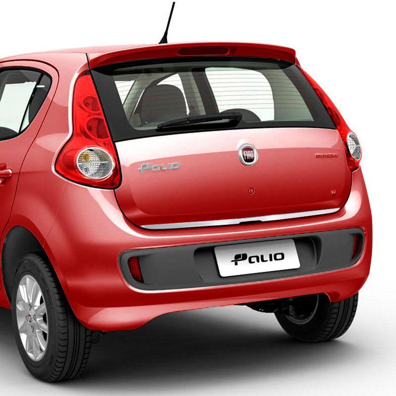 Friso Porta-Malas Fiat Palio 2012/ + Kit Soleira Protetora
