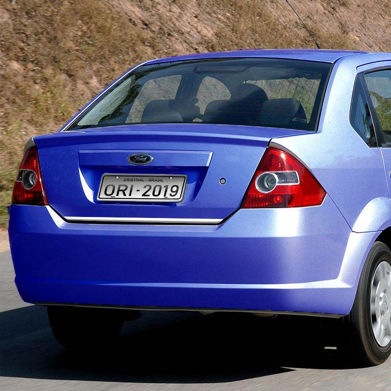 Friso Porta-Malas Fiesta Sedan 2003/ + Kit Soleira Protetora