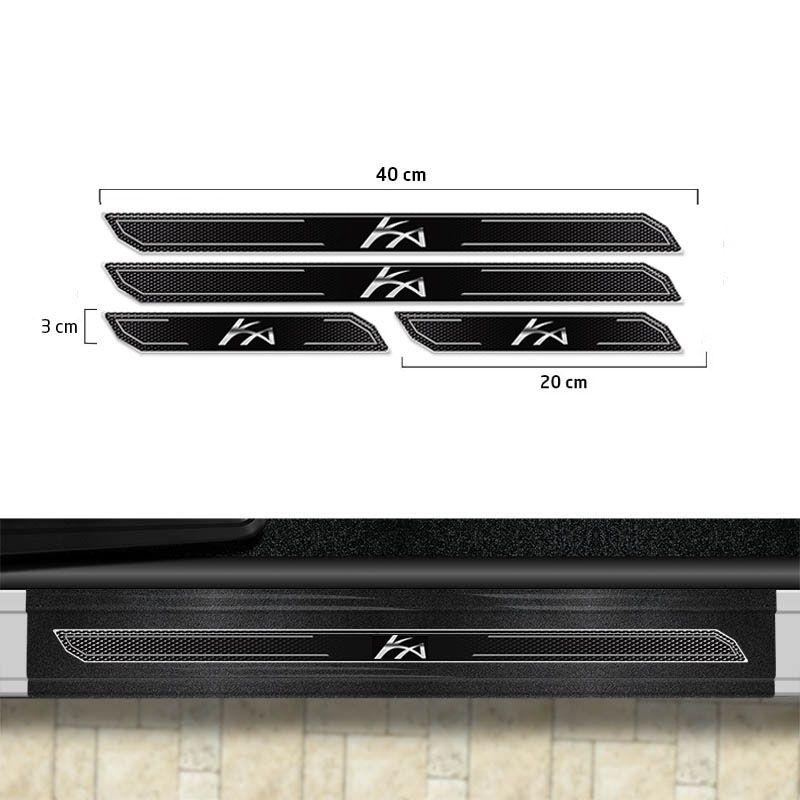 Friso Porta-Malas Ford Ka Sedan 15/ + Kit Soleira Protetora
