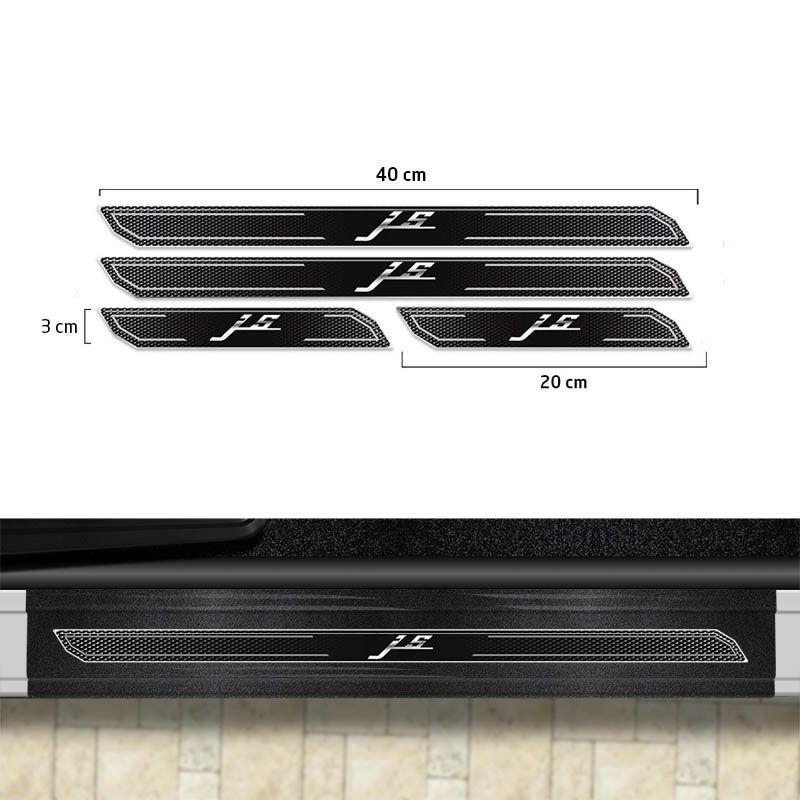 Friso Porta-Malas Jac Motors J5 + Kit Soleira Protetora