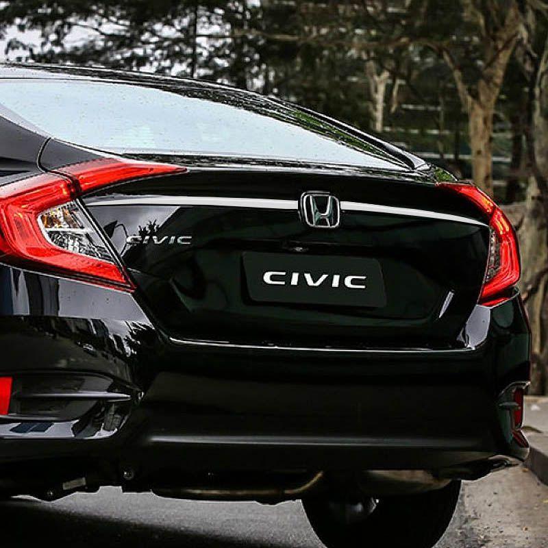 Friso Porta-Malas Superior Civic G10 2017/ Escovado Resinado