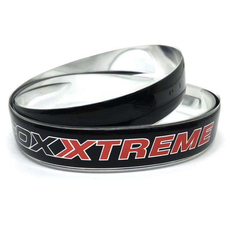 Friso Traseiro Fox Xtreme 2016/2018 Preto/Cromado Resinado