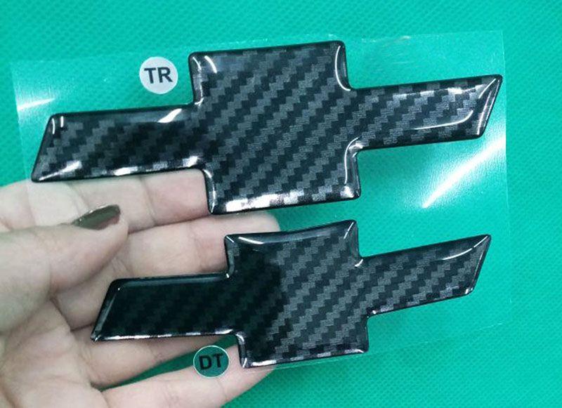 Gravata Adesiva Resinada Tracker até 2017 Fibra de Carbono