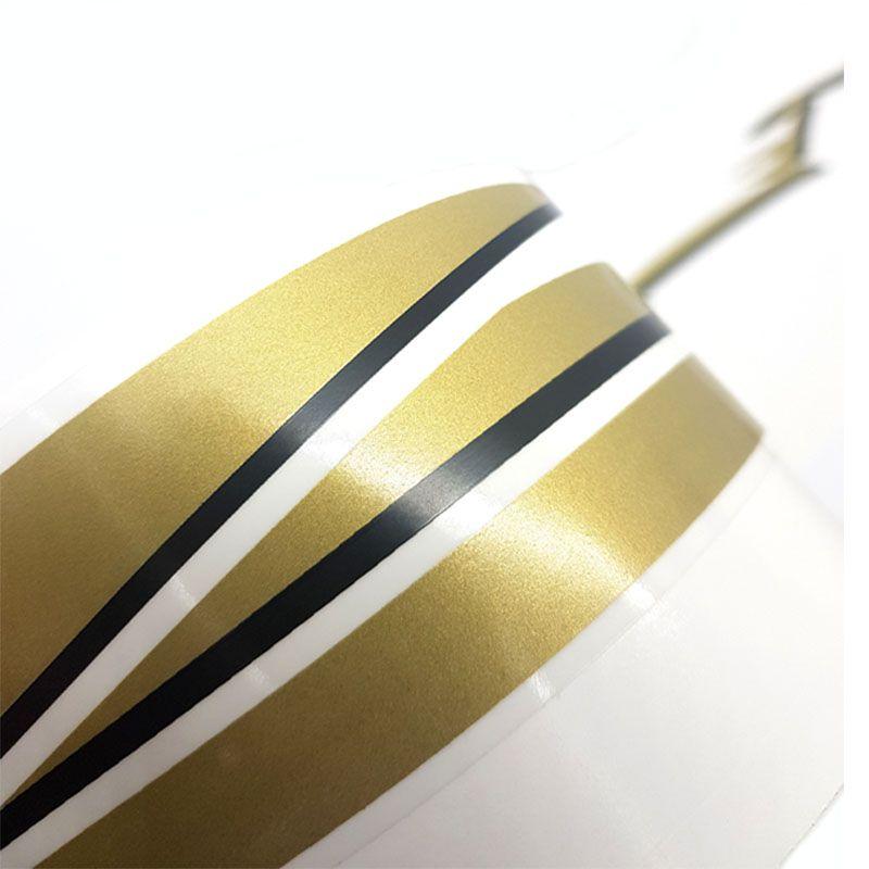 Jogo De Faixas Silverado D20 2000/ Adesivo Lateral Dourado