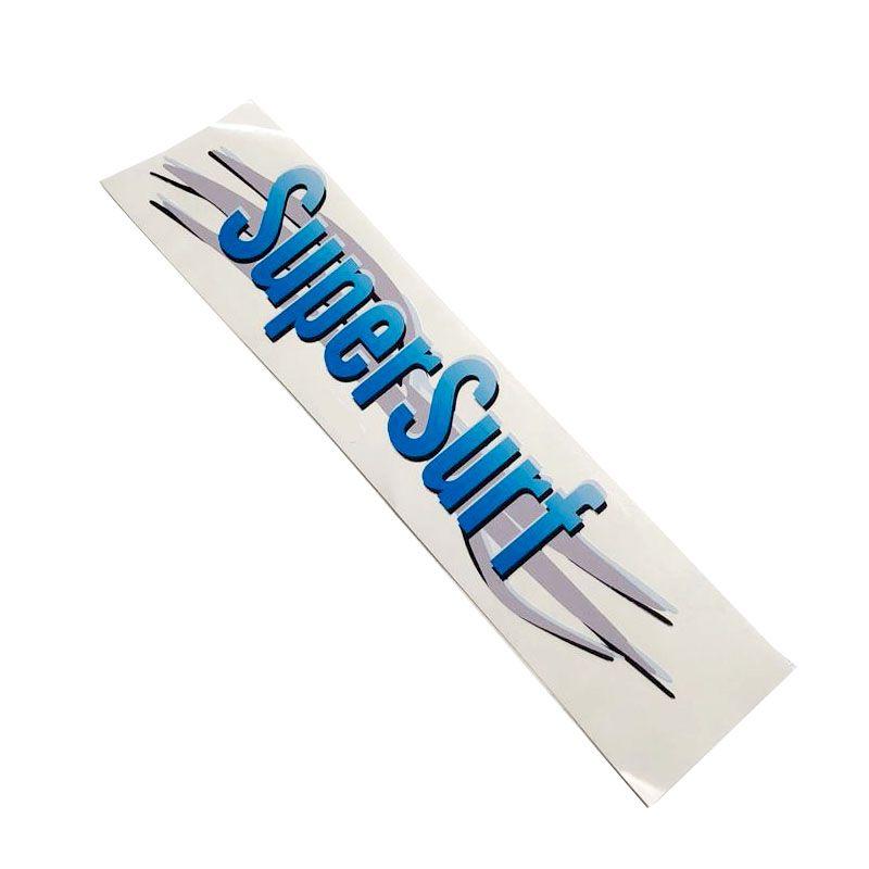 Kit 3 Adesivos Super Surf Saveiro Parati Gol 2003/2008 Azul