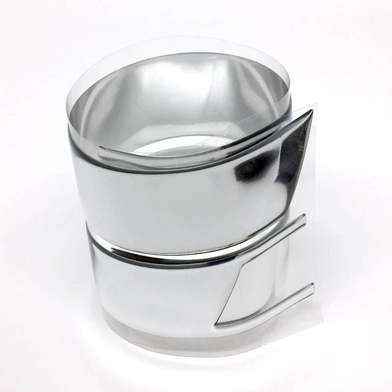 Kit Adesivo Aplique Grade Prisma 13/16 + Soleira Protetora