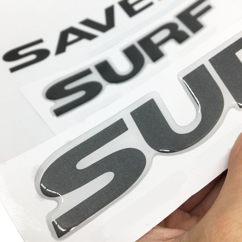 Kit Adesivo Faixa Saveiro Surf 2015/2016 Grafite Modelo Original
