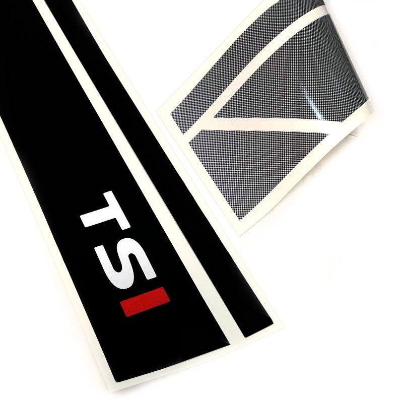 Kit Adesivo Faixa Up! Tsi 15/19 + Soleira Da Porta Protetora