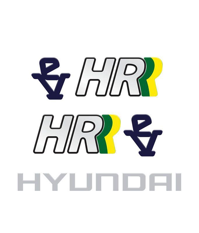 Kit Adesivos Caminhão Hyundai Hr Ev Capô + Lateral Resinado