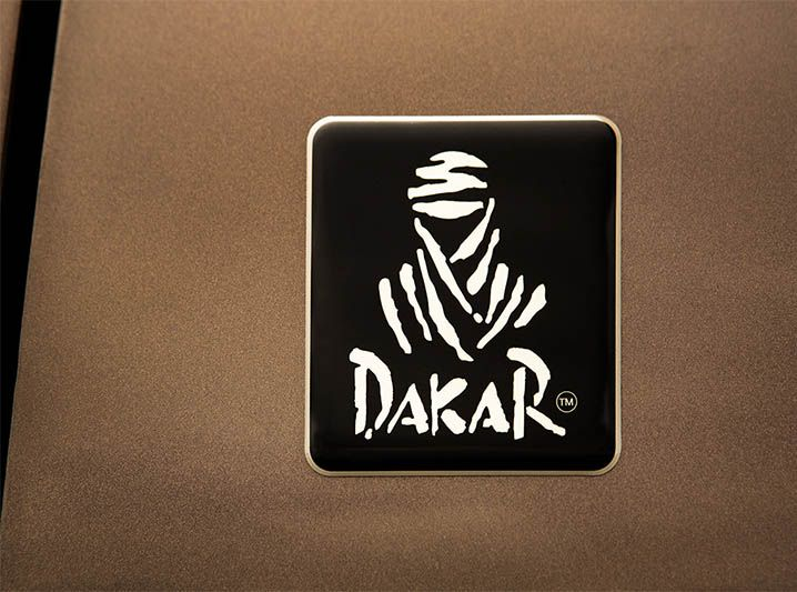 Kit Adesivos Faixa Dakar Spirit + Soleira Black Com Over