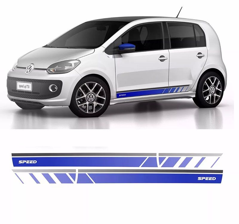 Kit Adesivos Faixa Lateral Up! Speed Modelo Original 2015