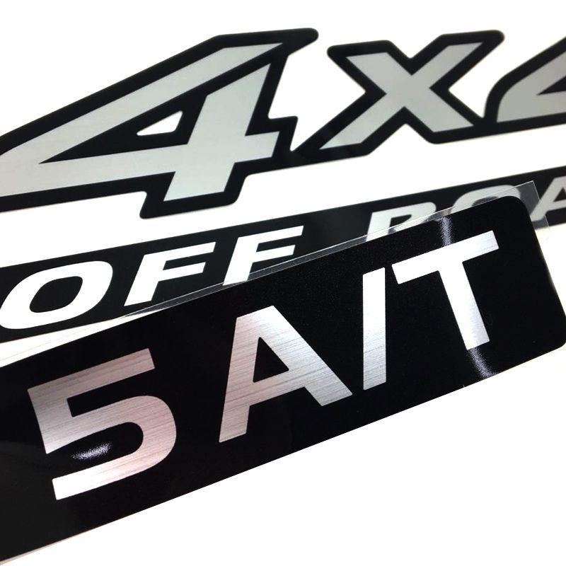 Kit Adesivos Nissan Frontier 4x4 Off Road 5a/t Mod. Original
