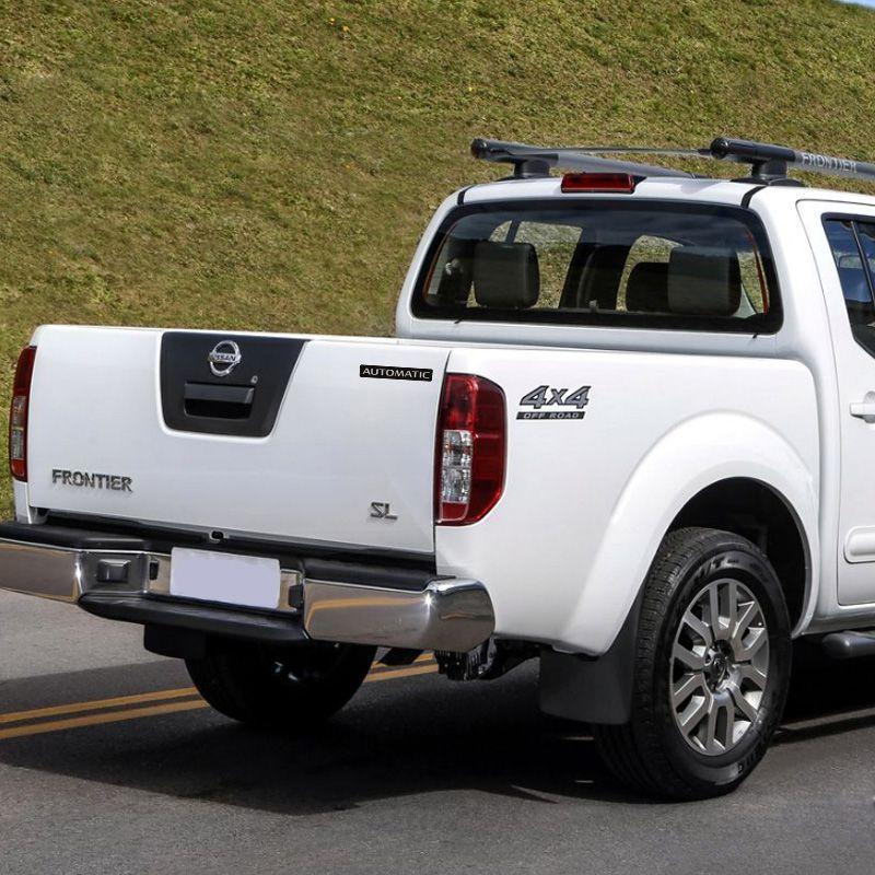 Kit Adesivos Nissan Frontier 4x4 Off Road Automatic Escovado