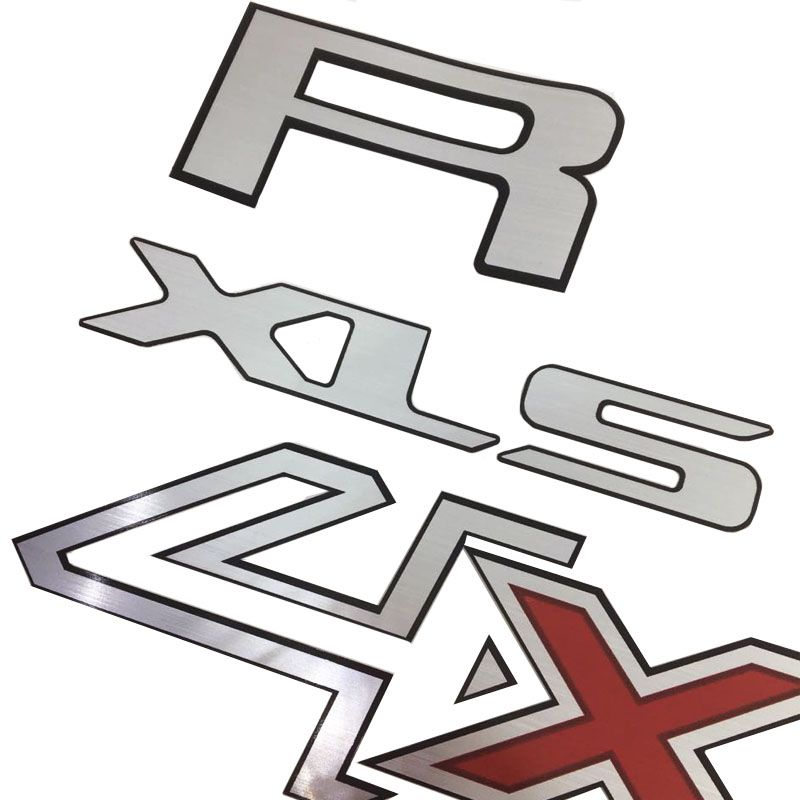 Kit Adesivos Ranger 4x4 E Xls Ford Ranger 13/16 Faixa Prata