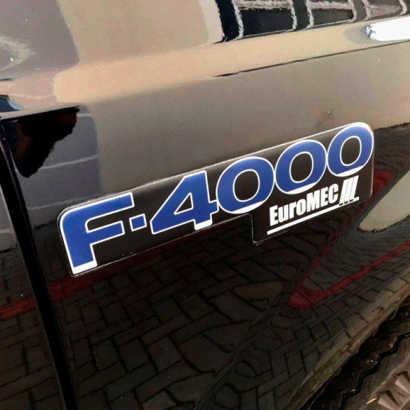 Kit Completo Adesivos Ford F-4000 Euromec + 4x4 + Cummins
