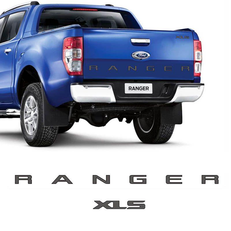 Kit De Faixa Ford Ranger 2013/2016 E Xls Traseiro Grafite