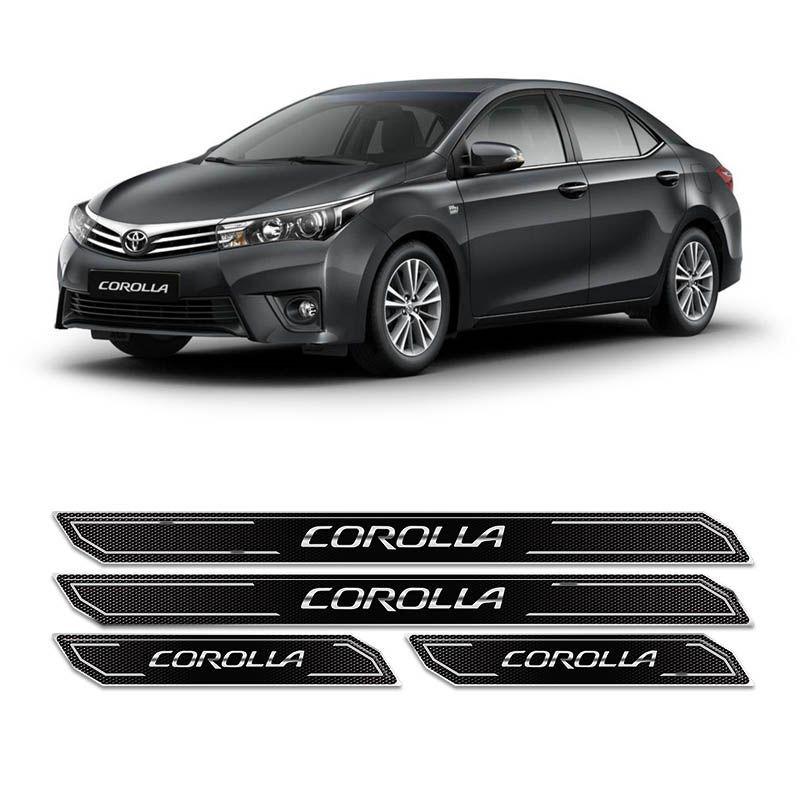 Kit de Soleira Da Porte Diamante Corolla 2015/2019 Resinada