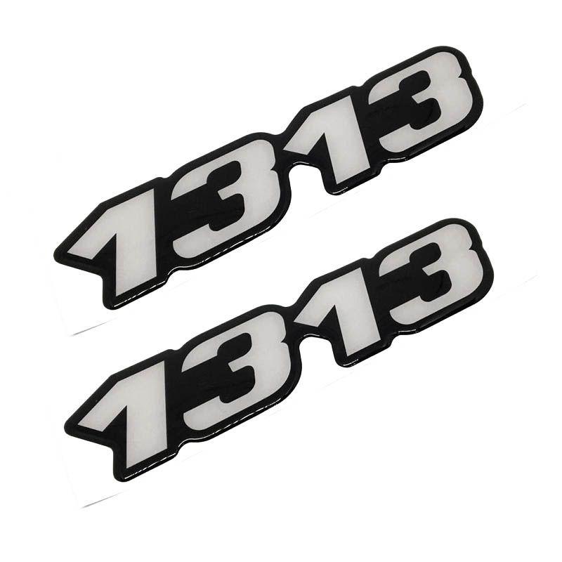 Kit Emblema 1313 Mercedes Benz Antigo Caminhão Resinado