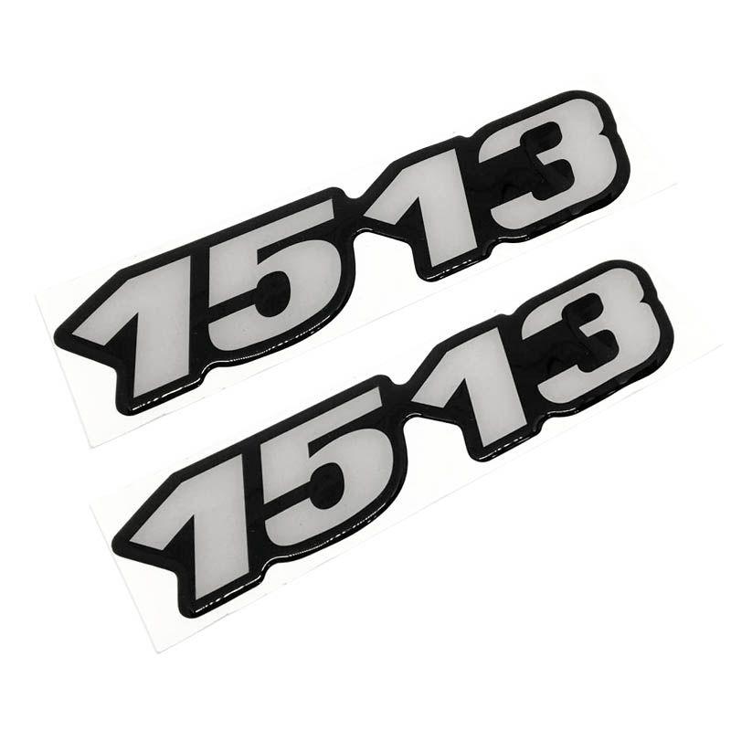 Kit Emblema 1513 Mercedes Benz Antigo Caminhão Resinado