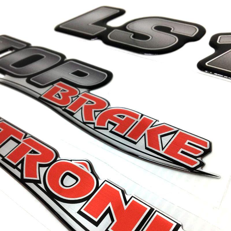 Kit Emblemas LS 1634 Top Brake Eletrônico Moderno Mercedes