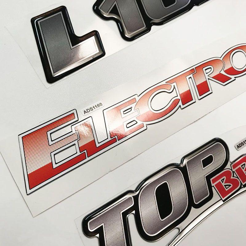 Kit Emblemas Mercedes Eletrônico L 1620 Electronic Top Brake