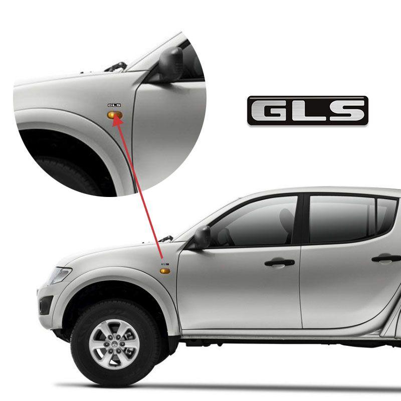 Kit Emblemas Mitsubishi L200 Triton Gls Cr 3.2 2013 Resinado