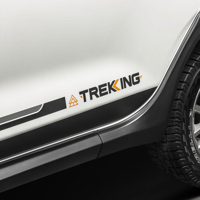 Kit Faixa Argo Trekking 2019/ Adesivo Lateral Capô Completo