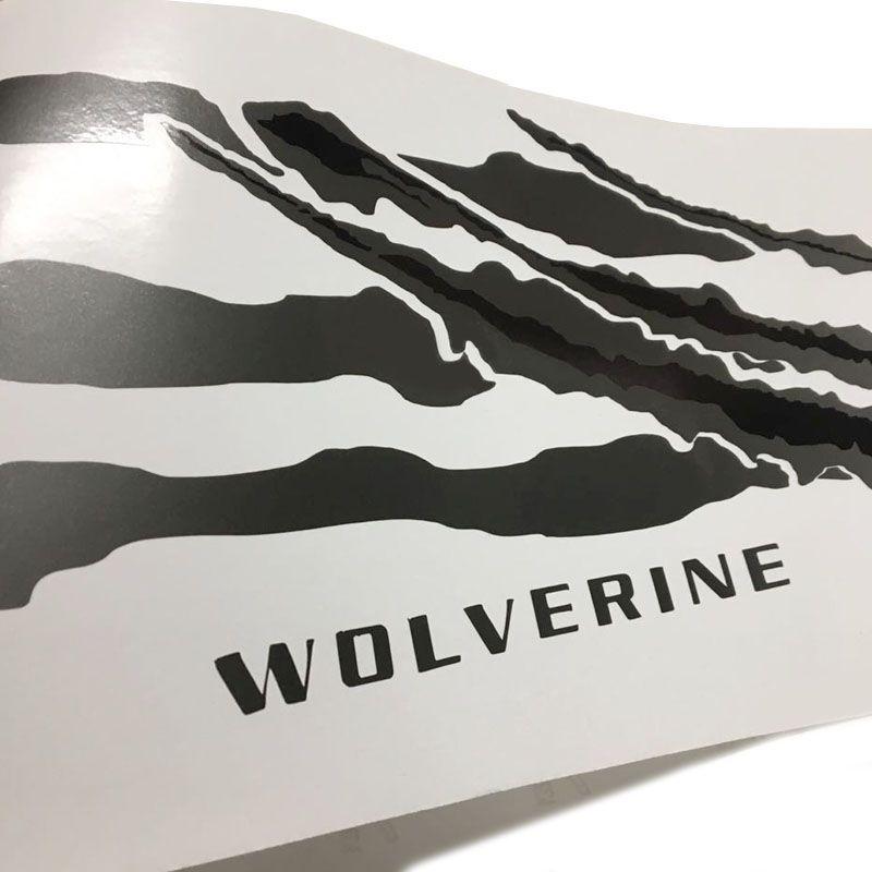 Kit Faixa Bravo Wolverine 14/16 Grafite + Emblema Fiat Black
