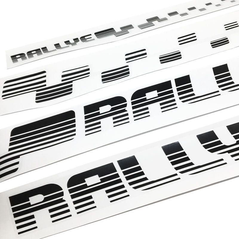 Kit Faixa Gol Rallye G4 Adesivo Lateral + Traseiro Preto