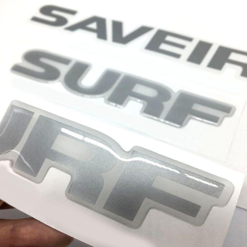Kit Faixa Prata Saveiro Surf 2015/2016 + Soleira Protetora