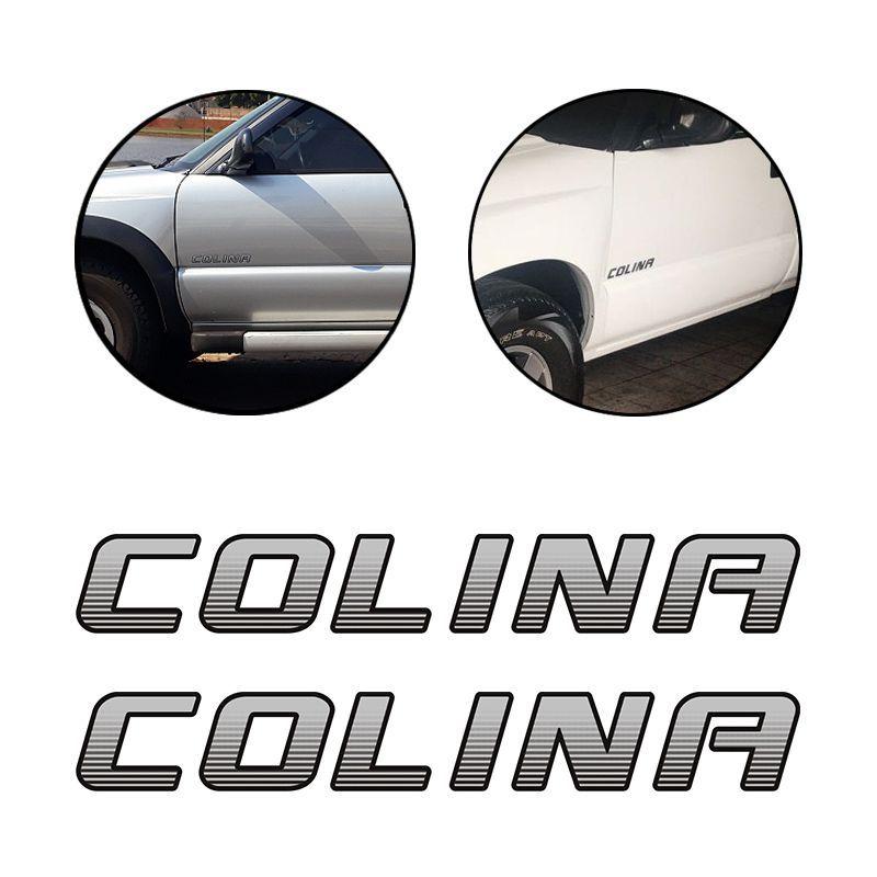 Kit Faixa S10 Chevrolet Preta 4x4 Turbo Eletronic + Colina