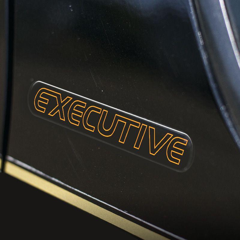 Kit Faixa S10 Executive 01/02 Cabine Simples Adesivo Dourado