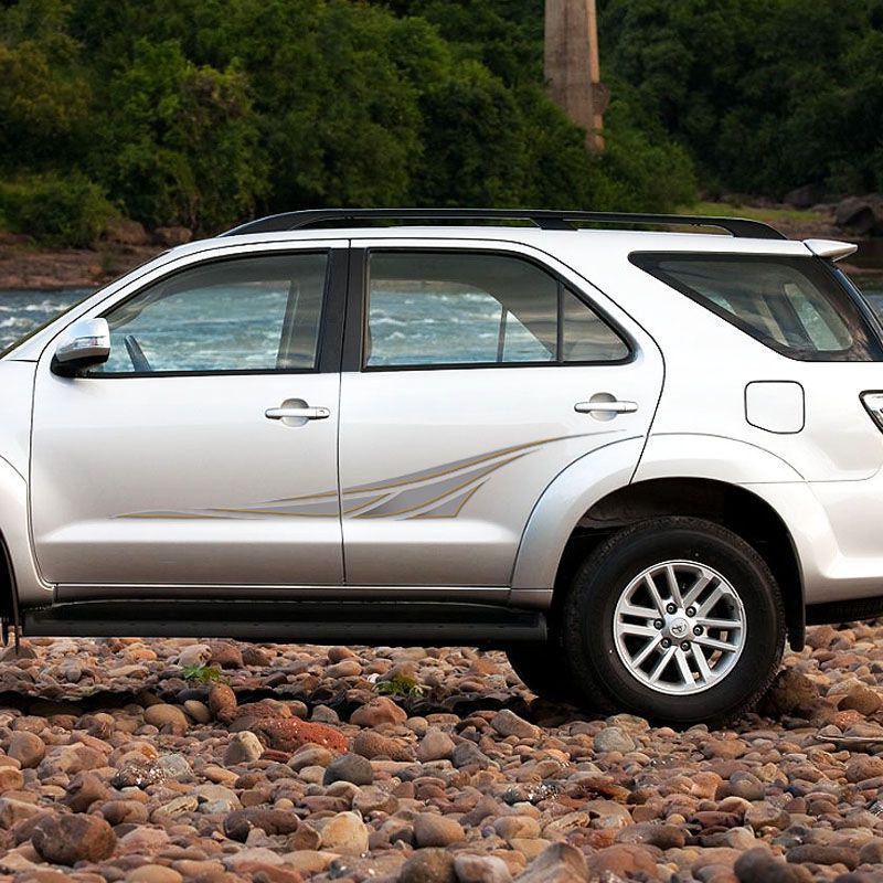 Kit Faixa Toyota Hilux Sw4 2005 A 2013 Adesivo Lateral