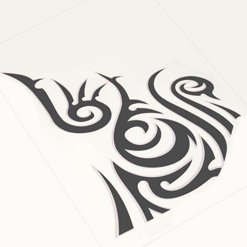Kit Faixas Sandero Stepway 2012 + Adesivo Tribal Grafite