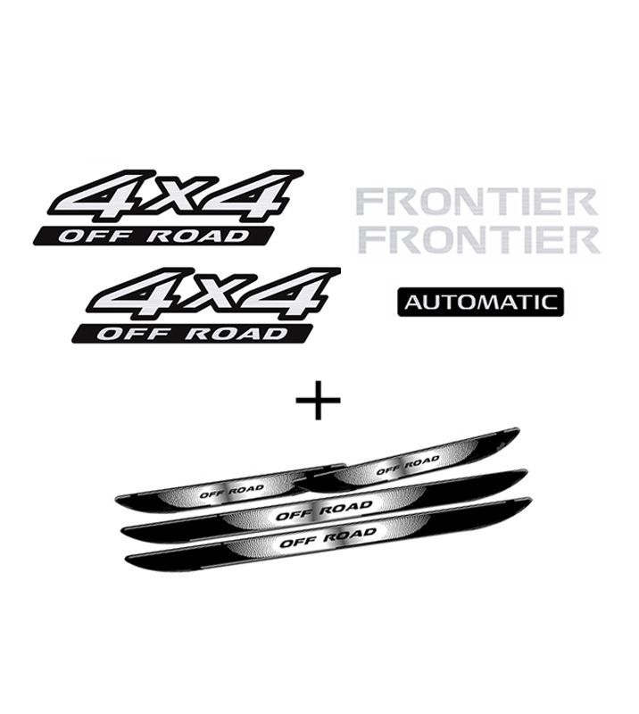 Kit Frontier 4x4 Off Road Automatic 09/ + Soleira Da Porta