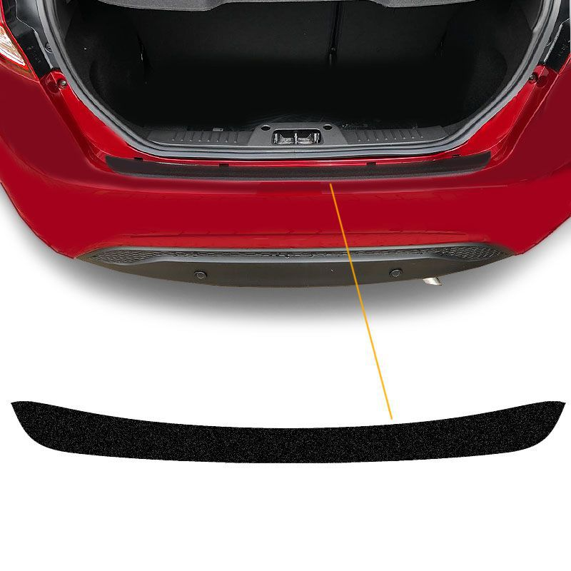 Kit Protetor Porta-Malas New Fiesta 15/2018 + Fundo De Placa