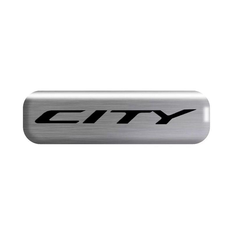 Kit Soleira da Porta Honda City 2009/2014 Resinado Com Black Over