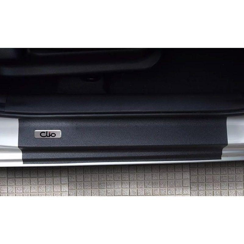 Kit Soleira da Porta Clio Resinado Com Black Over