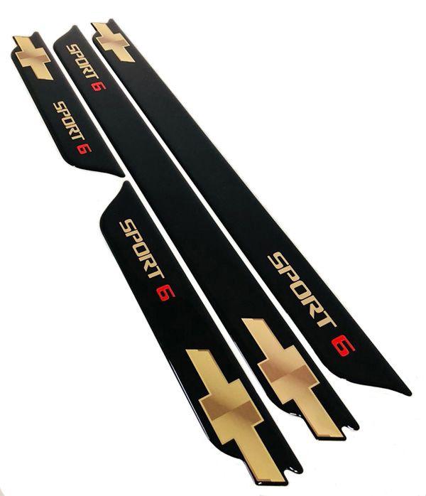 Kit Soleira da Porta Cruze Sport 6 Gold Com Black Over