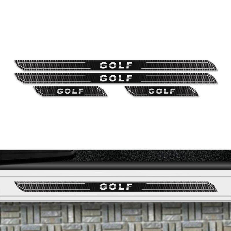 Kit Soleira Da Porta Diamante Golf 2014 Até 2018 Resinada