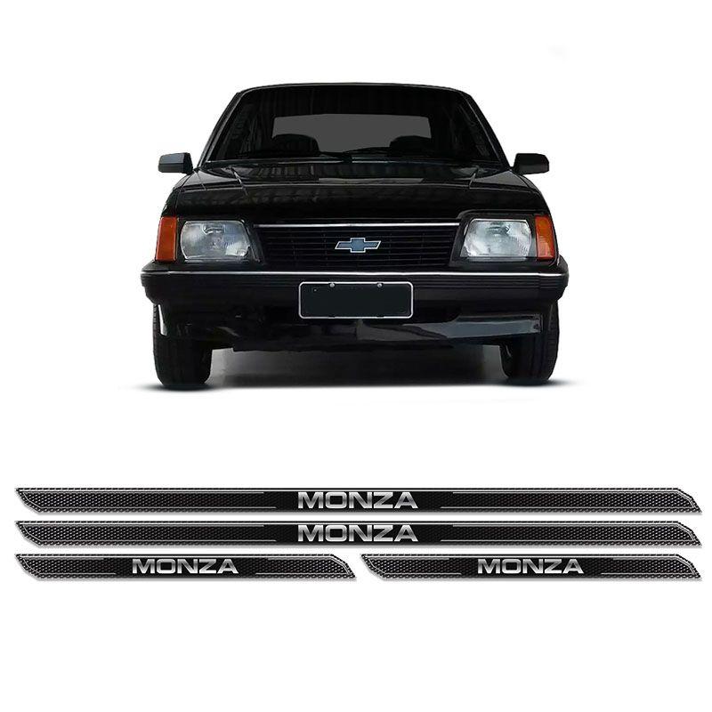 Kit Soleira Da Porta Diamante Monza 1982/1996 Resinada