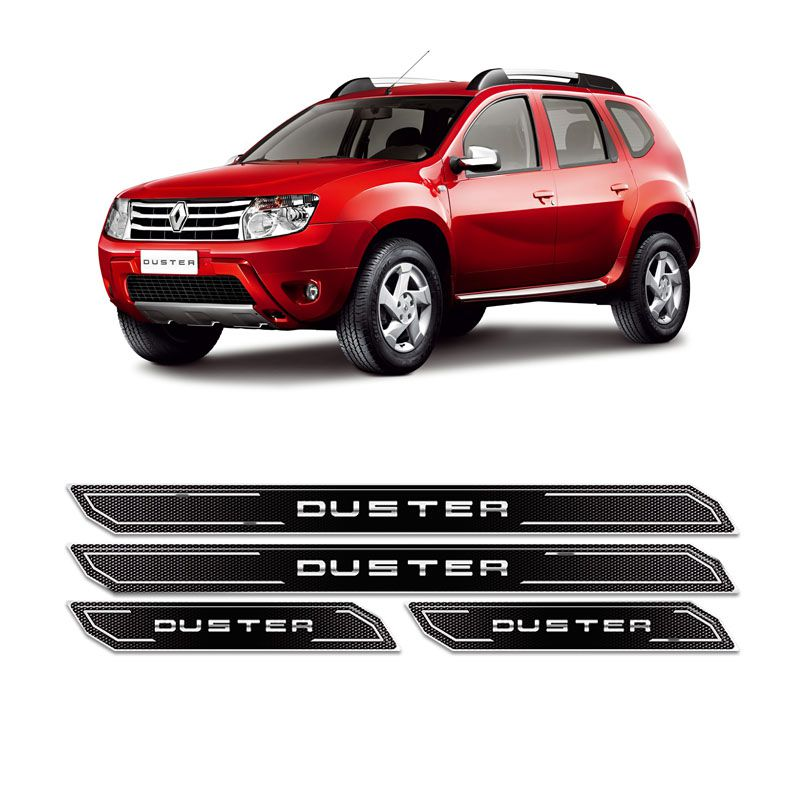 Kit Soleira Da Porta Diamante Renault Duster Resinada