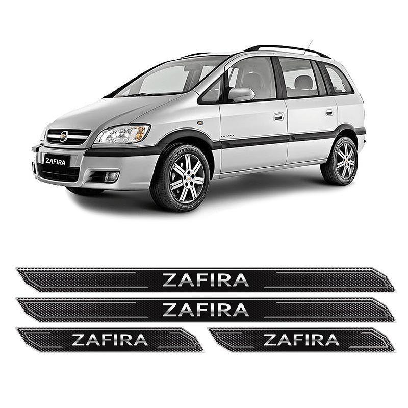 Kit Soleira Da Porta Diamante Zafira 2001/2012 Resinada