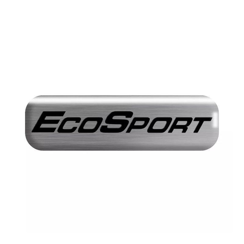 Kit Soleira da Porta Ecosport 2004/2011 Resinado Com Black Over
