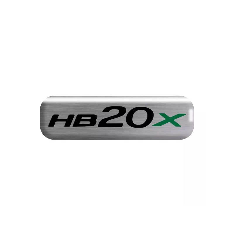 Kit Soleira da Porta Hyundai HB20x Resinado Com Black Over