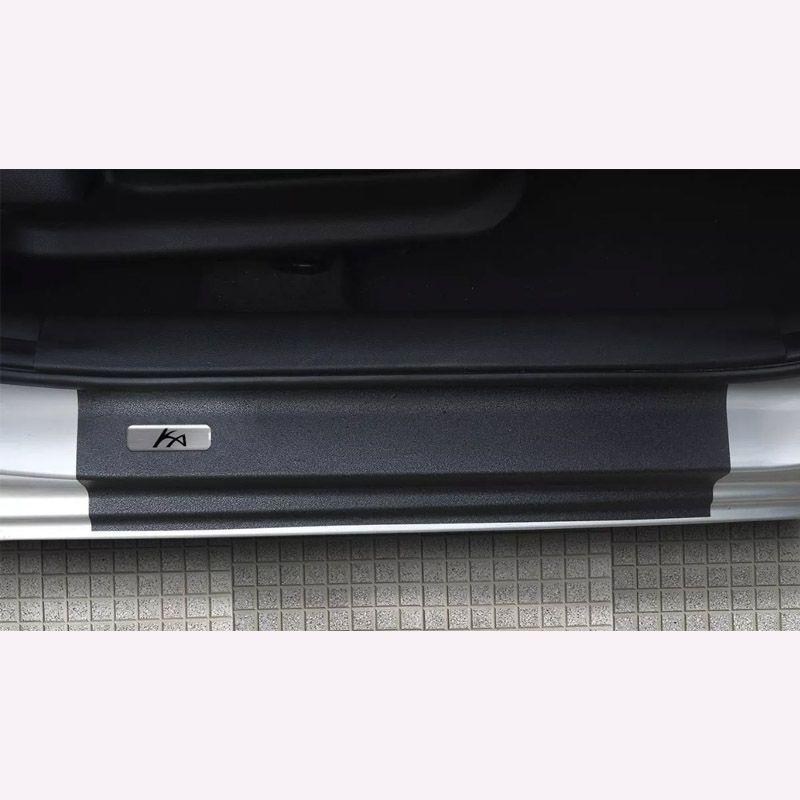 Kit Soleira da Porta Ford Ka Novo 2015/2019 Resinado Com Black Over