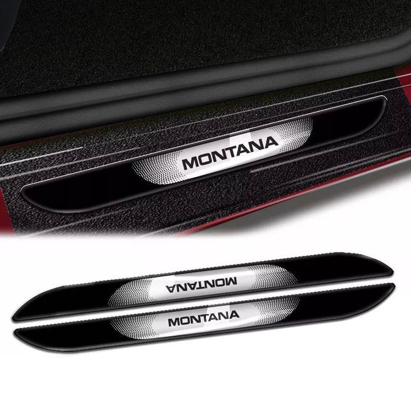 Kit Soleira Da Porta Montana Com Black Over Resinado