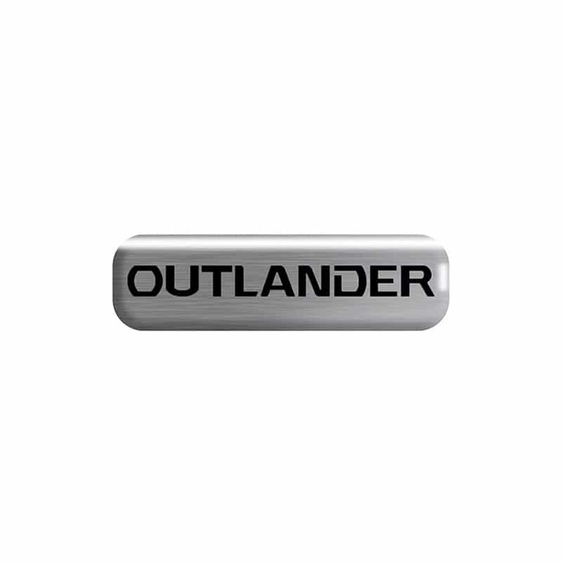 Kit Soleira da Porta Outlander Resinado Com Black Over