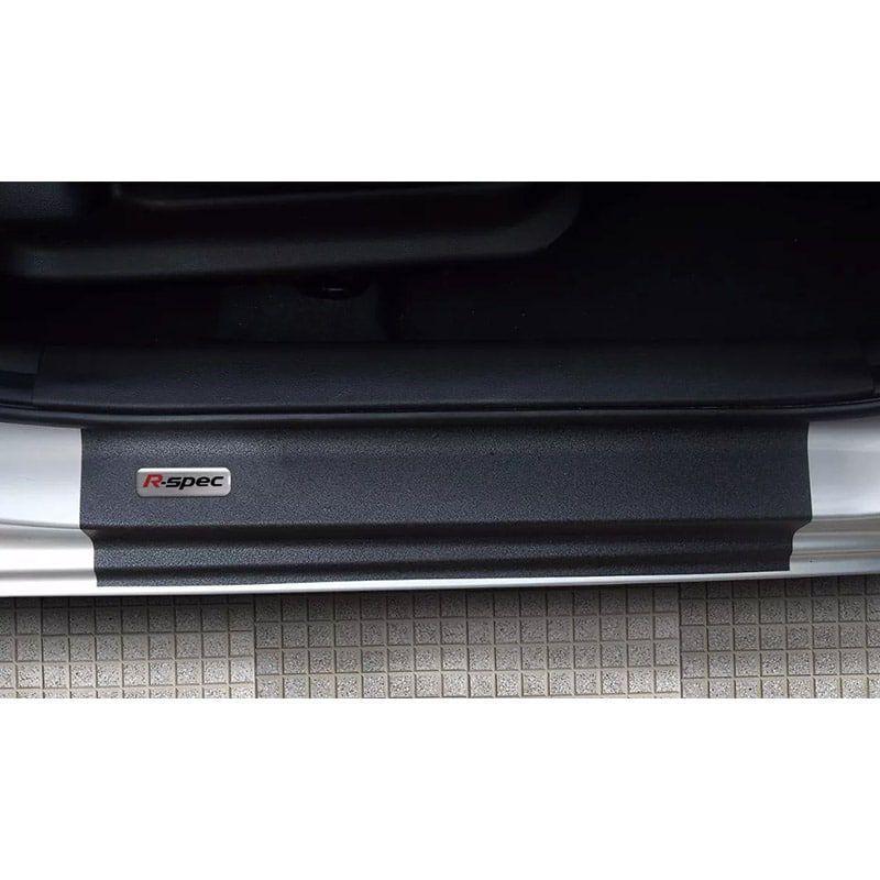 Kit Soleira da Porta R-Spec Resinado Com Black Over